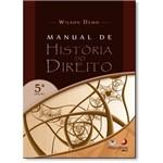 Livro - Manual de História do Direito