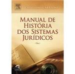 Livro - Manual de História dos Sistemas Jurídicos