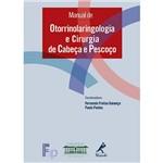 Livro - Manual de Otorrinolaringologia e Cirurgia de Cabeça e Pescoço