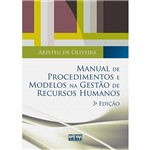 Livro - Manual de Procedimentos e Modelos na Gestão de Recursos Humanos