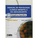 Livro - Manual de Psicologia Clínica Infantil e do Adolesc