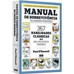 Livro - Manual de Sobrevivência do Homem Moderno