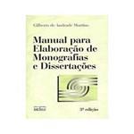 Livro - Manual para Elaboracão de Monografias e Dissertações