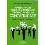 Livro - Manual para o Exame de Suficiência do Conselho Federal de Contabilidade: Teoria e Questões Comentadas