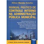 Livro - Manual Prático de Controle Interno na Administração Pública Municipal