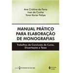 Livro - Manual Prático para Elaboração de Monografias - Trabalhos de Conclusão