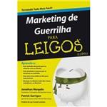Livro - Marketing de Guerrilha para Leigos