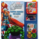 Livro - Marvel Avengers Assemble: Super Heróis em Ação - Acompanha: Outros