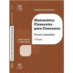 Livro - Matemática Financeira para Concursos: Série Provas e Concursos