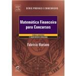Livro - Matemática Financeira para Concursos - Teoria e Questões - Série Provas e Concursos