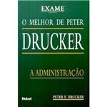 Livro - Melhor de Peter Drucker, o - a Administração