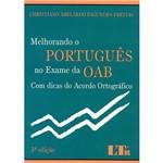 Livro - Melhorando o Portugues no Exame da OAB com Dicas de Acordo Ortográfico