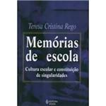 Livro - Memorias de Escola