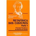 Livro - Metafisica dos Costumes
