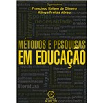 Livro: Métodos e Pesquisas em Educação