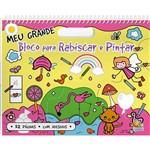 Livro - Meu Grande Bloco para Rabiscar e Pintar (Rosa)