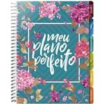 Livro - Meu Plano Perfeito - Capa Flores