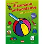 Livro - Meu Primeiro Dicionário Colante: as Palavras - Português-Inglês