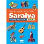 Livro - Meu Primeiro Dicionário Saraiva da Língua Portuguesa Ilustrado