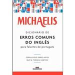 Livro - Michaelis Dicionário de Erros Comuns do Inglês para Falantes do Português