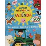 Livro - Minhas Atividades na Fazenda - Ler, Colorir, Desenhar e Brincar + 200 Adesivos