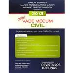 Livro - Mini Vade Mecum Civil 2013: Legislação Selecionada para OAB e Concursos
