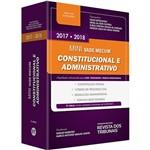 Livro - Mini Vade Mecum Constitucional e Administrativo: Legislação Selecionada para Oab, Concursos e Prática Profissional