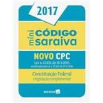 Livro - Minicódigo Saraiva: Novo CPC Constituição Federal e Legislação Complementar
