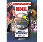 Livro - Minidicionário Rideel: Inglês - Português - Inglês