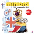 Livro - Minions Vida Longa ao Rei Bob!