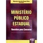 Livro - Ministério Público Estadual: Questões para Concursos