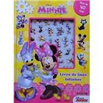 Livro - Minnie: Livro de Imãs Fofinhos