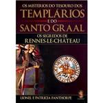Livro - Misterios do Tesouro dos Templarios e Santo Graal os Segredos de Rennes-Le-Chateau