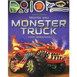Livro - Monte Seu Monster Truck com Adesivos