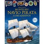 Livro - Monte Seu Navio Pirata com Adesivos