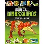 Livro - Monte Seus Dinossauros com Adesivos