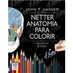 Livro - Netter Anatomia para Colorir