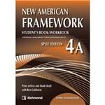 Livro - New American Framework 4A Upper Intermediate: Student's Book/ Workbook - Split Edition