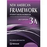 Livro - New American Framework 3A Intermediate: Student's Book/ Workbook - Split Edition