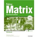 Livro - New Matrix Pre-Intermediate - Workbook