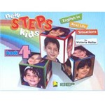Livro - New Steps Kids: English In Real Life Situations - Volume 4