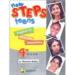Livro - New Steps Teens: English In Real Life Situations - 8 Série - 1 Grau