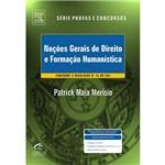 Livro - Noções Gerais de Direito e Formação Humanística