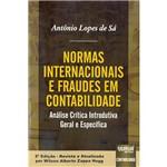 Livro - Normas Internacionais e Fraudes em Contabilidade