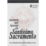 Livro - Novena em Louvor do Santíssimo Sacramento