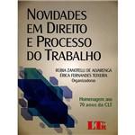 Livro - Novidades em Direito e Processo do Trabalho