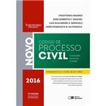 Livro - Novo Código de Processo Civil e Legislação Processual em Vigor - 2016