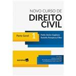 Livro - Novo Curso de Direito Civil 1: Parte Geral