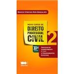 Livro - Novo Curso de Processo Civil 2: Processo de Conhecimento e Procedimentos Especiais (2ª Parte)