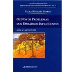 Livro - Novos Problermas dos Embargos Infringentes, os